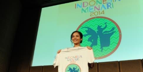 Chelsea Islan Ramaikan Indonesia Menari 2014