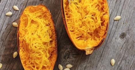 Resep Spaghetti Rendah Kalori Menggunakan Labu