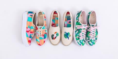 3 Sneakers Bernuansa Musim Panas 'Keds x Sunnylife'