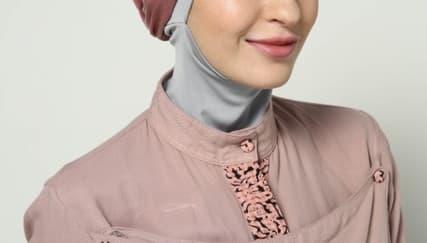 4 Langkah Memakai Hijab Gaya Turban