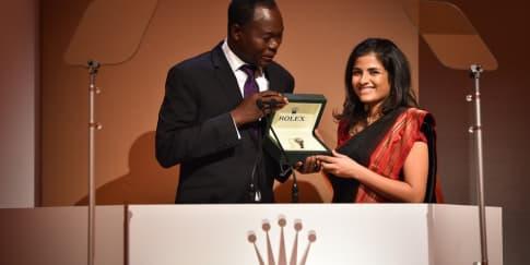 Penghargaan Rolex Kepada Pengusaha Terbaik tahun 2016