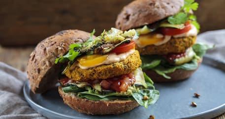 Cara Membuat Burger Vegetarian