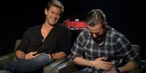 Cinta Laura Wawancara Pemain Film Avengers!