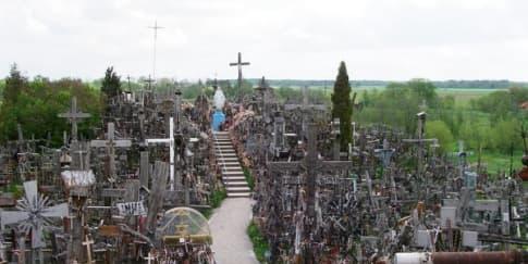 Kunjungi Bukit Salib di Šiauliai, Lithuania