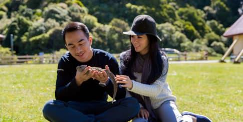 Petualangan Joe dan Julie Taslim di Selandia Baru
