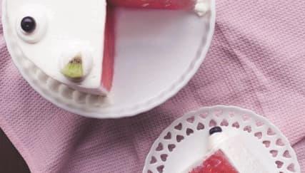 4 Langkah Membuat Kue Semangka