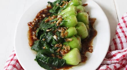 Cara Membuat Sayur Bokchoy Saus Tiram Sehat