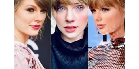 5 Inspirasi Riasan Natural Dan Bold Dari Taylor Swift