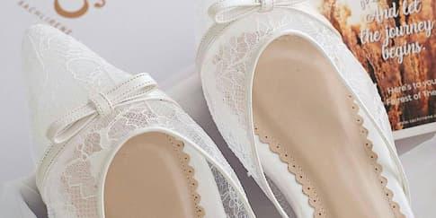 5 Mules Cantik untuk Dikenakan Pada Hari Pernikahan