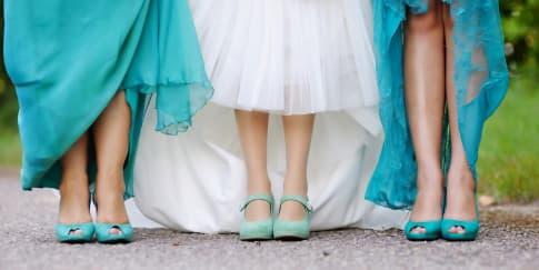 5 Rekomendasi Sepatu untuk Pengiring Pengantin