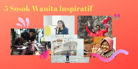5 Sosok Wanita Inspiratif Indonesia