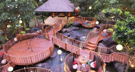 Keindahan Alam di JimBARan Outdoor Lounge