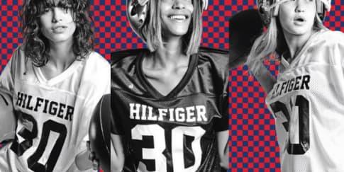 We Love: Set Kartu Supermodel dari Tommy Hilfiger