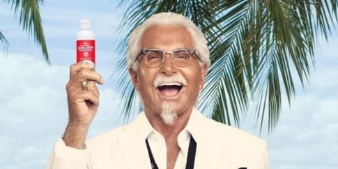 Heboh! Sunscreen Beraroma Ayam Goreng KFC