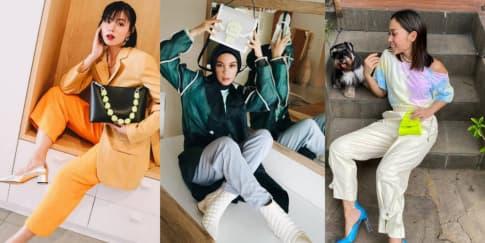 6 Gaya Modis Fashion Influencer Saat Di Rumah Aja