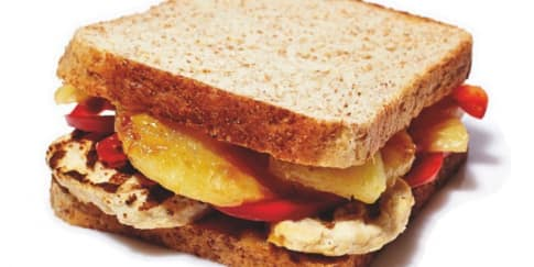 Resep: Grilled Pineapple Chicken Sandwich
