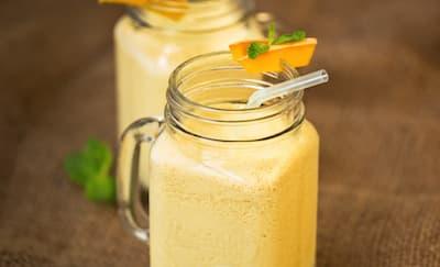 Cara Membuat Lassi Mangga untuk Diet
