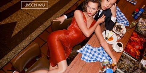 Duet Jason Wu dan Karlie Kloss untuk Musim Semi 2015