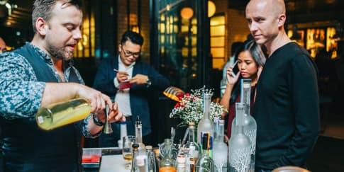 Pesta Kreasi Cocktail Belvedere di Loewy
