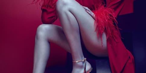 Bella Hadid Bintangi Kampanye Iklan Giuseppe Zanotti