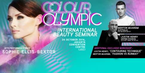 Sophie Ellis Bextor Ramaikan Asian PAC Beauty Awards 2014