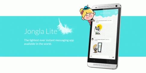 Jongla Lite, Aplikasi Pesan Singkat Teringan di Dunia