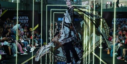 7 Hal Menarik dari Jakarta Modest Fashion Week 2018