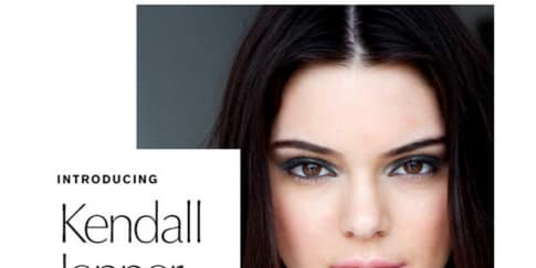 Kendall Jenner Jadi Ikon Estée Lauder
