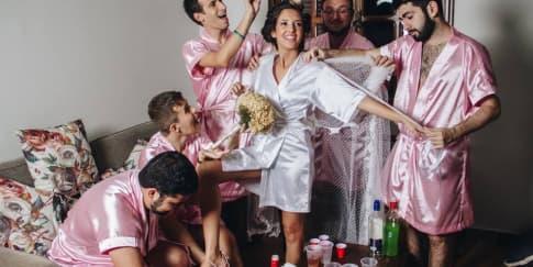 Bridal Photoshoot Dengan Teman Pria? Kenapa Tidak!