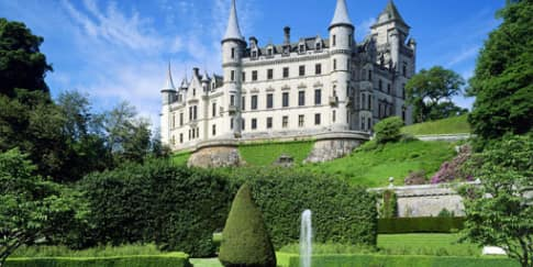 Berlibur di Kota Medieval, Skotlandia