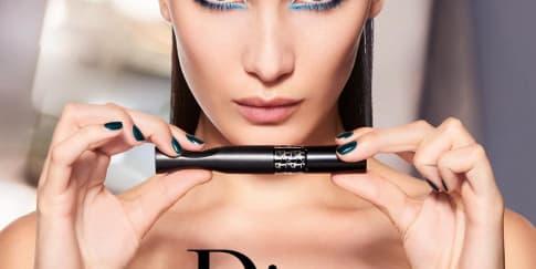 Bella Hadid Menjadi Wajah Baru Dior Makeup