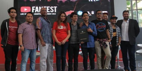 YouTube FanFest Hadir di Indonesia