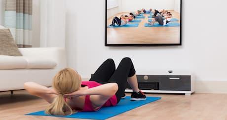 Olahraga Yang Bisa Dilakukan Sambil Nonton TV