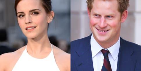 Emma Watson & Prince Harry Berkencan