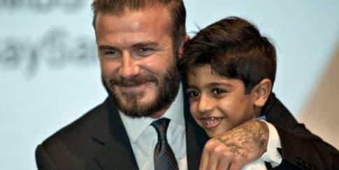 David Beckham Bintangi Iklan Marina Bay Sands