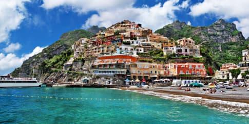 Keindahan Amalfi Coast, Italia