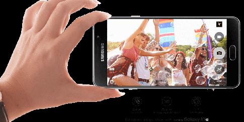 Smartphone Tahan Air Millenials Samsung Galaxy A