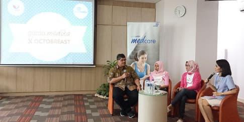 Cegah Kanker Payudara Lewat Garda Medika Octobreast