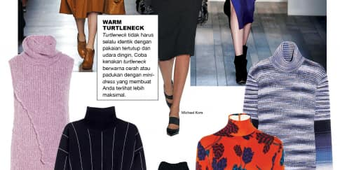 TRENDS - WARM TURTLENECK