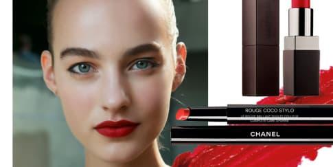 Tren Warna Lipstik dari Panggung Mode Musim Semi