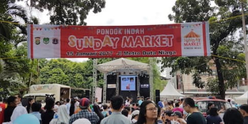 Warga Pondok Indah Hadirkan Pondok Indah Sunday Market