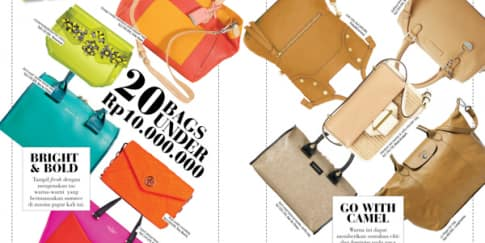 FAB FINDS - 20 BAGS UNDER Rp 10.000.000