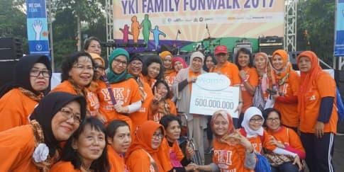Kontribusi Wardah untuk Yayasan Kanker Indonesia