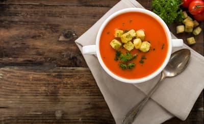 Cara Membuat Sup Krim Tomat Keju