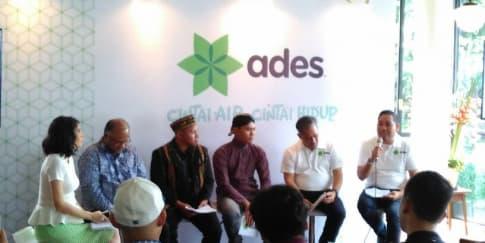 Ades Ajak Generasi Muda Dukung Jaga Kelestarian Lingkungan