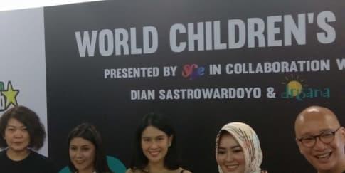 Aksi Amal SGE Live & Dian Sastrowardoyo Untuk Anak