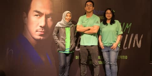 Aksi Joe Taslim dalam Film Pendek 'Keep On Rolling'