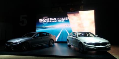 BMW Luncurkan Seri 5 Terbaru