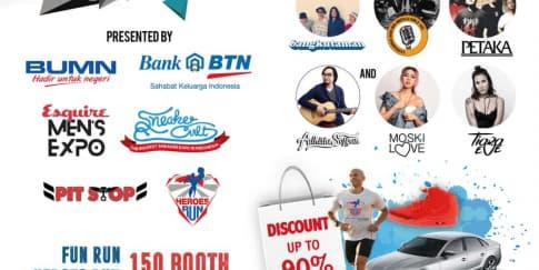 BTN Social Expo Siap Buat Akhir Pekan Jadi Lebih Seru