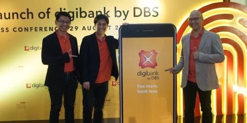 Bank DBS Luncurkan Layanan Digibank by DBS